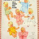 Baby Doll Layette Vintage Sewing Pattern Butterick 4202