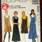 Knit Top and Jumper  Vintage Sewing Pattern McCalls 9028