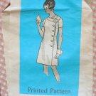 Buttonfront Wrap Dress Anne Adams Vintage Mail Order Sewing Pattern 4831