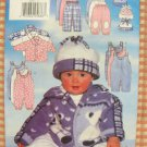 Baby's Winter Jacket, Jumpsuit, Pants and Hat Uncut Sewing Pattern Butterick 5092