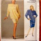 Emanuel Ungaro 80s Power Dress Vintage Vogue Paris Original Sewing Pattern 2024