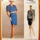 Bill Blass 80s Power Suit Vintage Vogue Sewing Pattern 2048