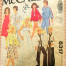 Barbie & Ken Doll Clothes Vintage 70s Sewing Pattern McCall's 6317