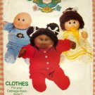Butterick 6507 Cabbage Patch Kids Doll Clothing Uncut Sewing Pattern