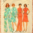 Misses Skirt , Pants and Top Vintage Pattern Simplicity 6852