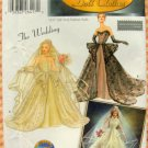 "The Wedding 15 1/2"" Fashion Doll Clothes Sewing Pattern Simplicity 5713"