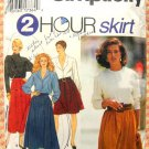 Misses Skirts Vintage Sewing Pattern Simplicity 9935
