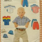 Infant Boy Wardrobe Vintage Sewing Pattern  Butterick 6030  L- XL.
