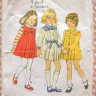 Toddler Pleated Dress Size 2 Simplicity 6584 Vintage Sewing Pattern