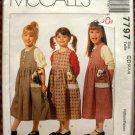 Girl's Jumper Vintage Sewing Pattern McCalls 5061