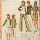 Misses Tunic Jacket, Skirt,  Pants Vintage Sewing Pattern Butterick 3091