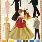 """11 1/2"""" Vintage Fashion Doll Clothes Sewing Pattern Vogue 9894"""