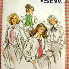 Ladies Classic Ties Kwik Sew 912 Vintage Sewing Pattern