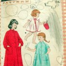 Little Girl's Robe or Beach Cover-up Butterick 7057 Vintage Sewing Pattern