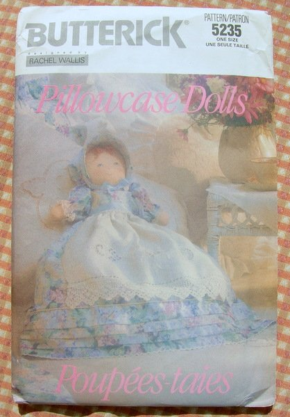 Pillowcase Dolls Uncut Sewing Pattern Butterick 5235