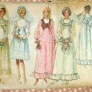 Wedding Dress and Bridesmaid Dresses Vintage Pattern Simplicity 9608