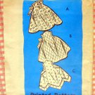 Hostess Aprons Vintage Mail Order Sewing Pattern 9361