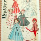 10.5-inch  Doll Vintage 50s Original Sewing Pattern Butterick 8353