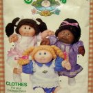 Cabbage Patch Kids Doll Clothes Dresses Sewing Pattern Butterick 6934
