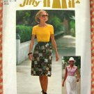 Wrap Skirt and Knit Top Vintage 70s Sewing Pattern Simplicity 7451