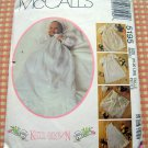 McCall's 5195 Infants' Christening Coat, Cape, Gown, Slip, Bonnet and Blanket Sewing Pattern