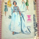McCall's 7082 Wedding or Evening Gown Vintage 60s Sewing Pattern