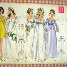 Butterick 5564 Wedding or Bridesmaid Gown Vintage 60s Sewing Pattern