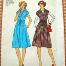 Misses Dress or Jumper Vintage 70s Pattern Simplicity 7375