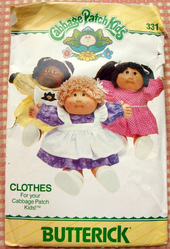 cabbage patch kids dress sewing pattern pdf