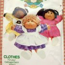 Cabbage Patch Kids Doll Dresses Sewing Pattern Butterick 331