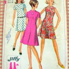 Simplicity 7161 Misses A-Line Dress Vintage 60's Sewing Pattern