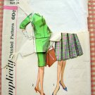 Simplicity 3604 Misses Skirts and Tops Vintage 60's Sewing Pattern