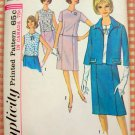 Simplicity 5793 Woman's Plus Size Suit and Overblouse Vintage 60's Sewing Pattern