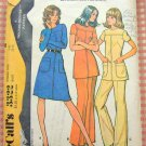 McCall's 3322 Misses Knit Dress, Tunic and Pants Vintage 70s Sewing Pattern