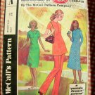 Dress, Tunic, Pants McCalls 2794 Post Cereal A 60s Vintage Sewing Pattern