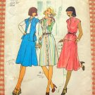 Misses' 70s Dress, Skirt and Top Vintage Sewing Pattern Simplicity 7350