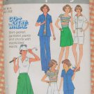 Plus Size Sportswear Separates Vintage 70s Sewing Pattern Simplicity 8109