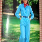 Misses Jumpsuit Vintage 70s Pattern Butterick See & Sew 7595