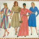 Misses Pullover Dress Vintage 80s Pattern Butterick 6510