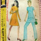 McCall's 2622  Size 12 Misses Dress, Top and Pants Vintage 70s Sewing Pattern