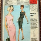60s Summer Shift Dress Vintage Sewing Pattern McCalls P-44