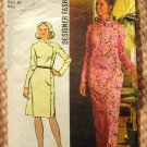 Simplicity 5321 Misses Asian Inspired Maxi Dress 70s Vintage Sewing Pattern
