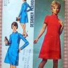 Simplicity 8909 Misses Dress 70s Vintage Sewing Pattern