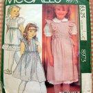 Girls' Laura Ashley Jumper, Blouse, Petticoat or Skirt Vintage 80s McCalls 8973