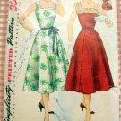 Misses Sleeveless Dress Vintage 50s Pattern Simplicity 4347