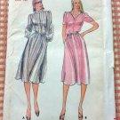Misses Dress Butterick 3708 Vintage Sewing Pattern