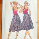 Junior 70s Flared Skirt Vintage Sewing Pattern Butterick 6972