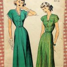 Misses Vintage 40s Dress Advance Sewing Pattern 5027