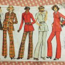 Misses Shirt Jacket and Pants Vintage Sewing Pattern Simplicity 5247 Size 16