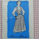 Junior Miss Blouse and Jumper Anne Adams Vintage Mail Order Sewing Pattern 4513